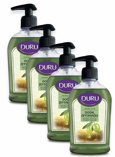 Duru Duru Natural Olive Zeytinyağlı Sıvı Sabun 300 ml x 4 Adet Renksiz